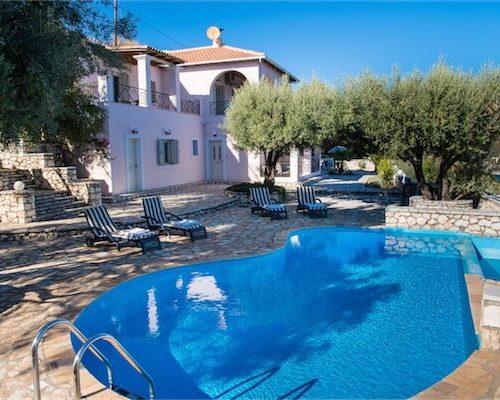 Villa Huren Op Lefkas – Griekenland