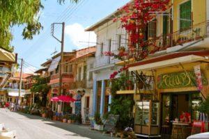 Lefkas stad shoppen - Griekenland