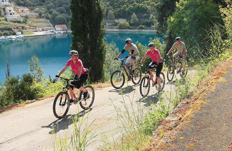 Moutainbike - Lefkas - Griekenland