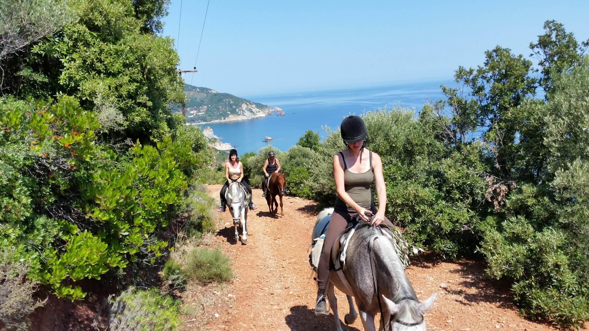 Paardrijden - Lefkas - Griekenland (1)