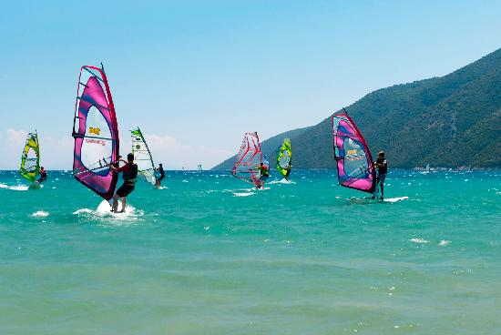 Windsurfen - Lefkas - Griekenland